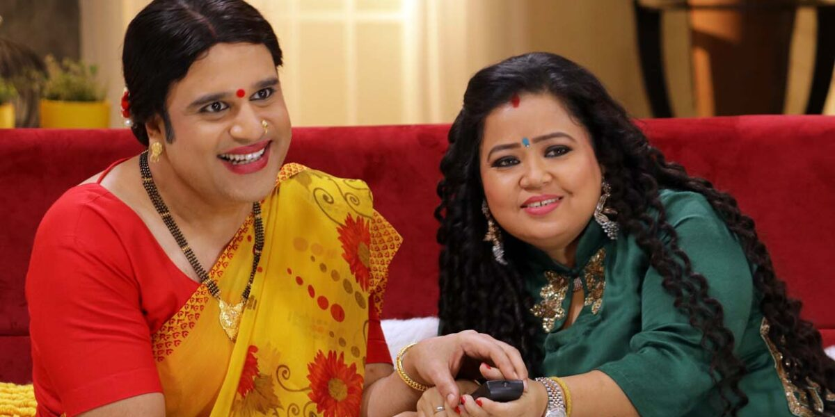 Krushna Abhishek and bharti singh