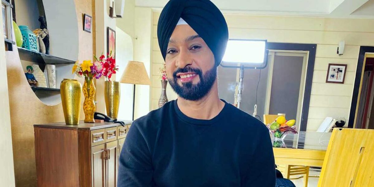 Bombay Film Production Gurmeet Sodhi makes waves as a singer and musician