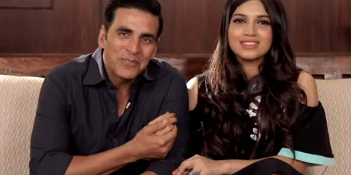 Bombay Film Production - Bhumi Pednekar- I think my friendship has only become thicker with Akshay Kumar